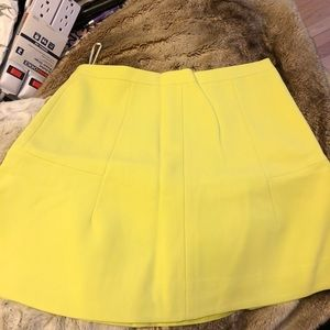 Jcrew flare high waisted skirt